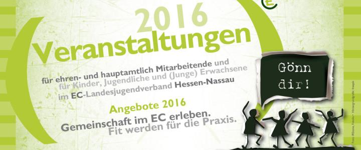 Angebote des ECHN 2016: Gönn dir!