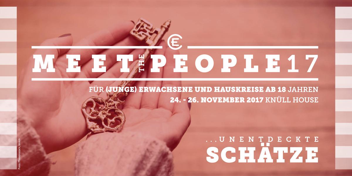 Meet the People 2017: unentdeckte Schätze Flyer Seite 1