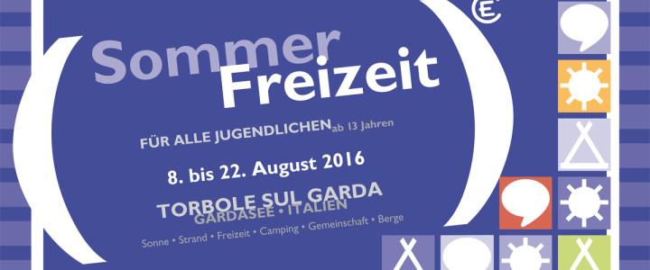 Komm mit zur Sommerfreizeit am Gardasee