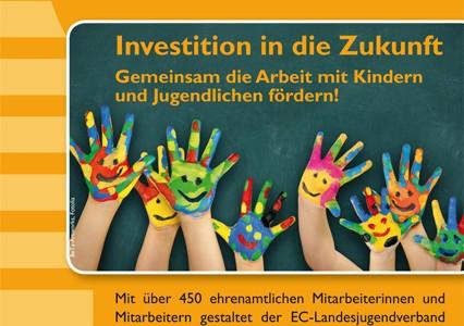 Jugenddankopfer 2014: Investition in die Zukunft!