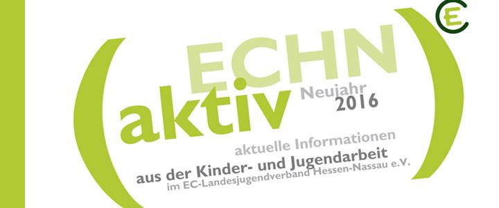 ECHN aktiv: Aktuelles aus dem Landesverband