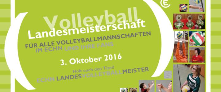 Jetzt zum ECHN Volleyballmeister 2016 anmelden!