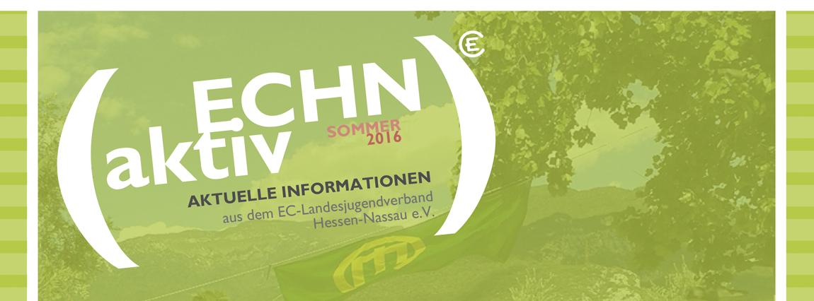 ECHN aktiv Sommer 2016