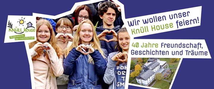 40 Jahre Knüll House: Mitfeiern am 2. April 2017!