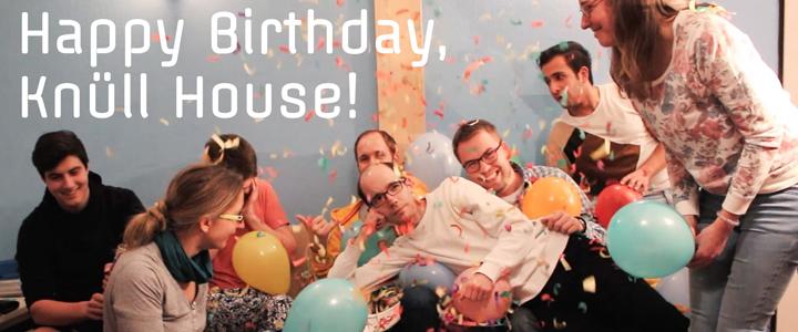 Happy Birthday zum 40. Geburtstag, Knüll House!