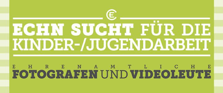 Ehrenamtliche Fotografen und Videoleute gesucht!