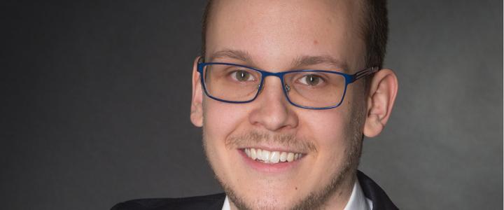 Simon Klötzing: neuer Leiter des AK Jugend