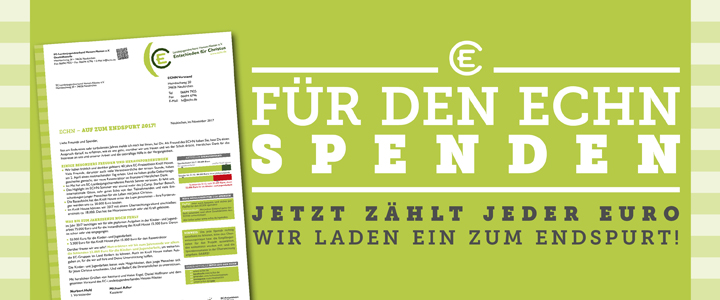 Spendenbrief November: Endspurt 2017!
