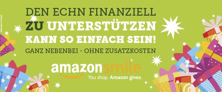 Weihnachtsgeschenke kaufen und den ECHN unterstützen – mit smile.amazon.de