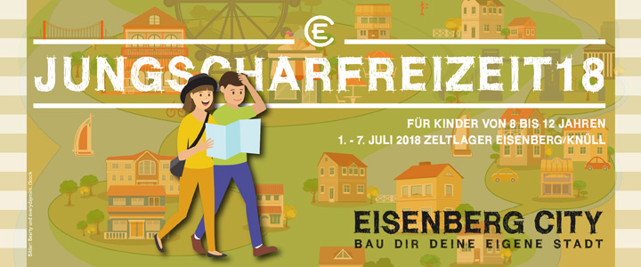 "Jungscharfreizeit 2018 ""Eisenberg City"""