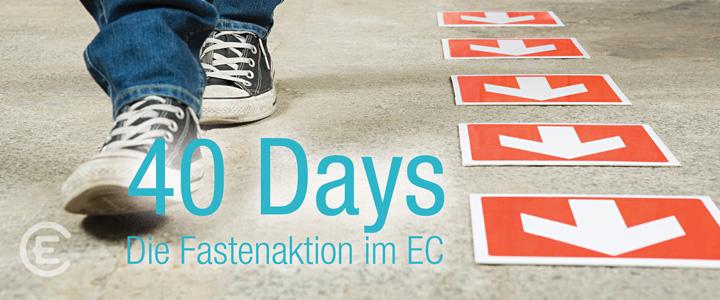Deutschlandweite EC-Fastenaktion 40 Days