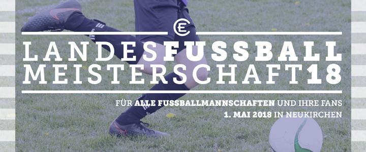 Landesfußballmeister 2018 gesucht!