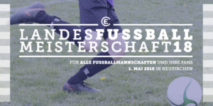 ECHN Landesfußballmeister 2018 Flyer Seite 1