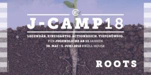 J-Camp 2018 Roots - echt elementar Flyer Seite 1