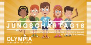 Jungschartag 2018: Olympia – Dabeisein ist alles Flyer Seite 1