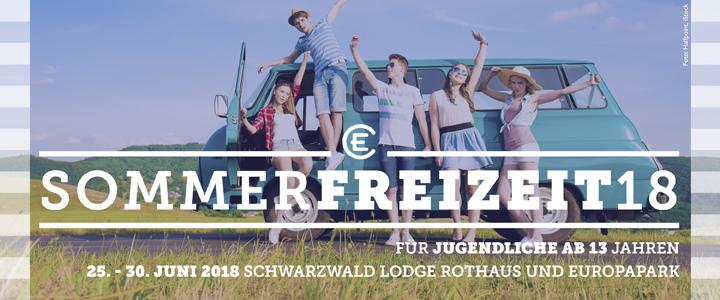 Sommerfreizeit 2018 Schwarzwald und Europapark
