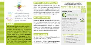 Forum für Leiter 2018 Frexperiment Flyer Seite 2