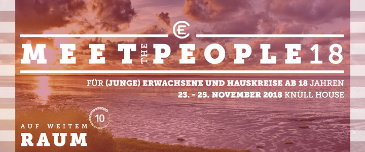 Meet the People 2018 Auf weitem Raum