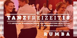 Tanzfreizeit 2018 Rumba Flyer Seite 1
