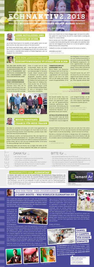 ECHN aktiv 2-2018 Seite 1