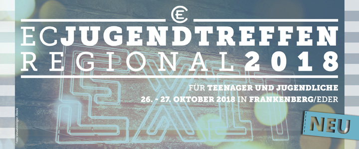 Das neue EC Jugendtreffen Regional: EXIT