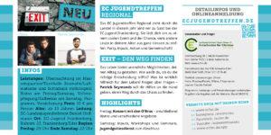 EC Jugendtreffen Exit Flyer Seite 2