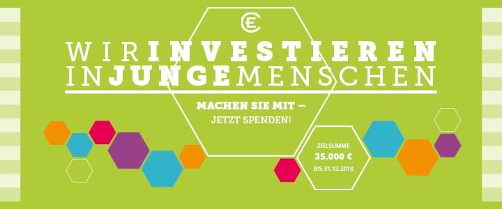 Spendenbitte: In junge Menschen investieren