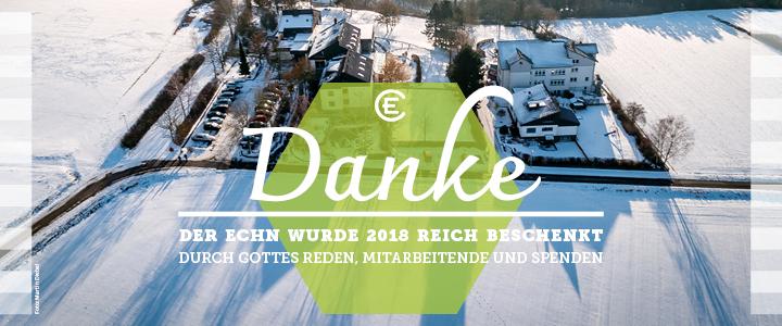 2018 reich beschenkt – Danke!