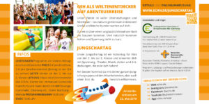 Jungschartag 2019 Weltenentdecker Flyer Seite 2