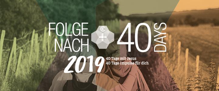 40Days - Logo 2019 - EC-Aktion in der Fastenzeit