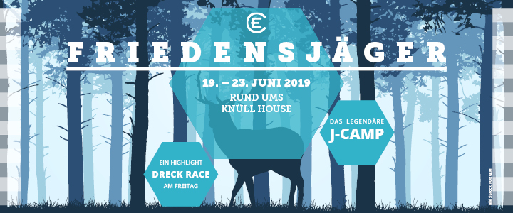 J-Camp 2019 Flyer Friedensjäger