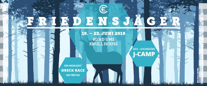 J-Camp 2019 Titelbild Friedensjäger