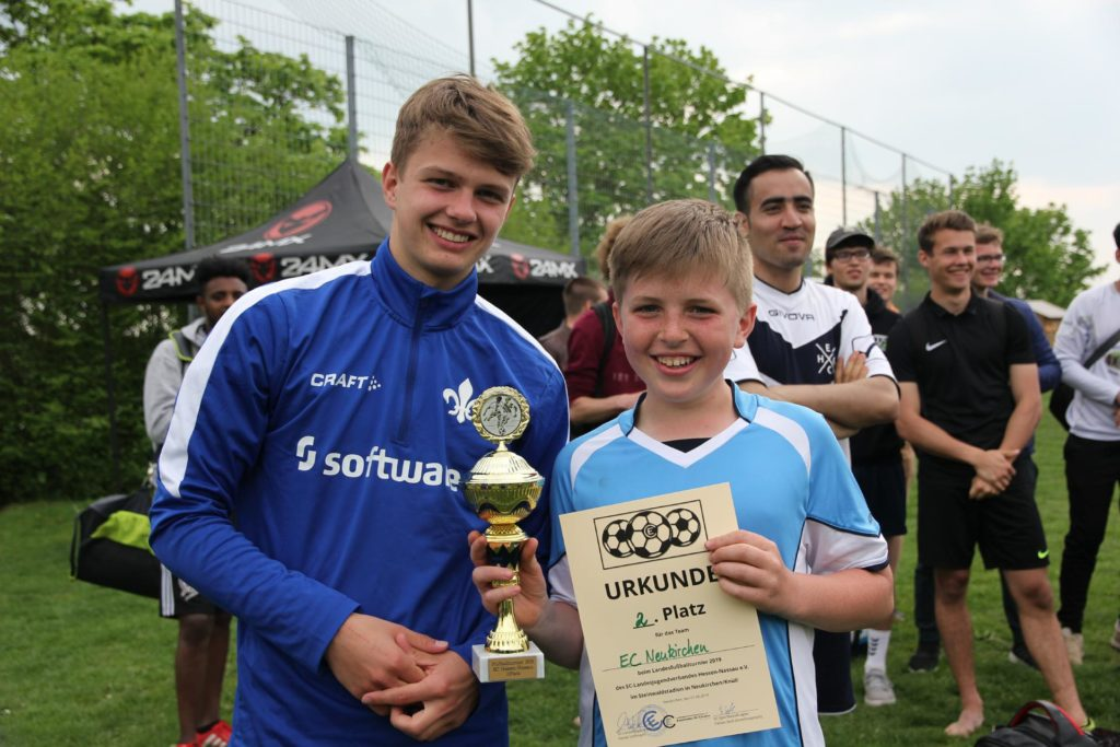 Landesfußballmeister 2019 Platz 2 EC Neukirchen