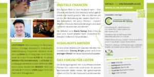 Forum für Leiter Digitale Chancen Flyer Seite 2