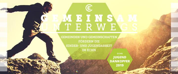 """Jugenddankopfer 2019 - Motiv """"Gemeinsam unterwegs"""""""