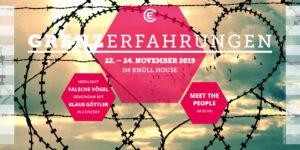 Meet the People 2019 - Thema Grenzerfahrungen - Titelbild Flyer Seite 1
