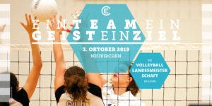 Volleyballmeisterschaft 2019 Flyer Seite 1