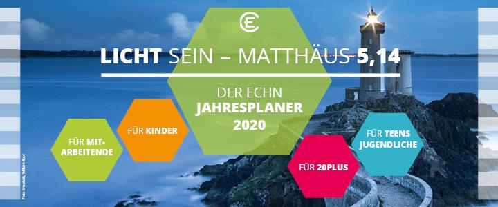 ECHN Jahresplaner 2020 Titelbild
