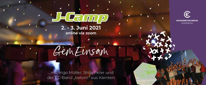 Anmelden zum J-Camp 2021 GemEinsam