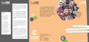 studiEC Flyer zum Wintersemester 2021 mit Terminen und Orten - Seite 1
