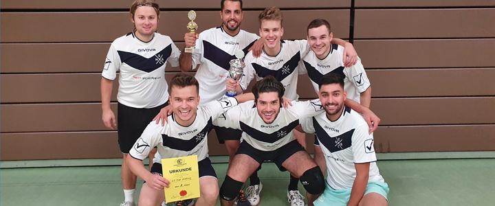 Foto des Siegers der Landesvolleyballmeisterschaft 2021: EC Bad Homburg